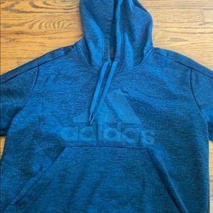 Blue adidas hoody